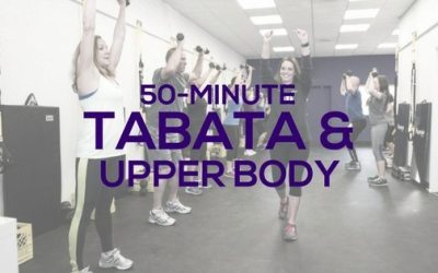 Tabata + Upper Body Workout for Women