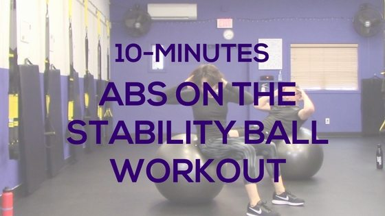 10-Minute Abs On The Stability Ball