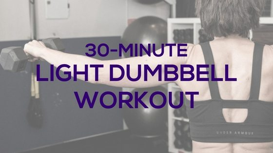 Light Dumbbell Workout