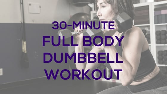 Full Body Home Dumbbell Workout