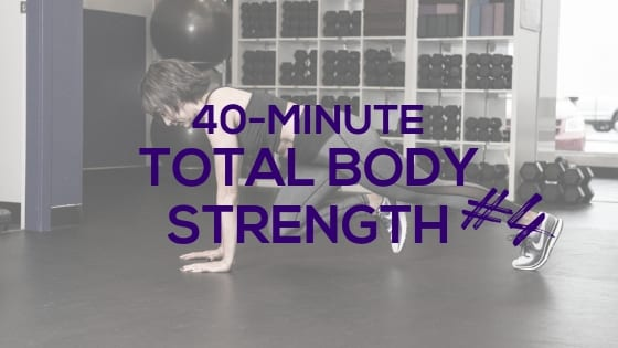 Total Body Strength for Women #4