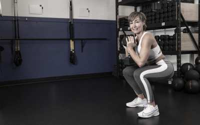 Leg Day Workout for Women with Dumbbells