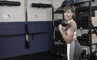 Standing Upper Body Workout with Dumbbells for Women Over 40