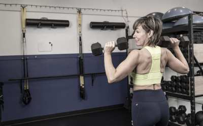 Shoulders & Abs with Dumbbells for Women Over 40