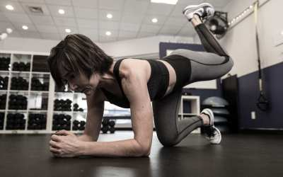 Mini Ball, Tubing & Dumbbell Workout For Women Over 40