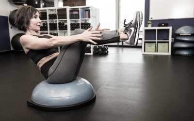 BOSU Ball or STEP HIIT Workout for Women Over 40