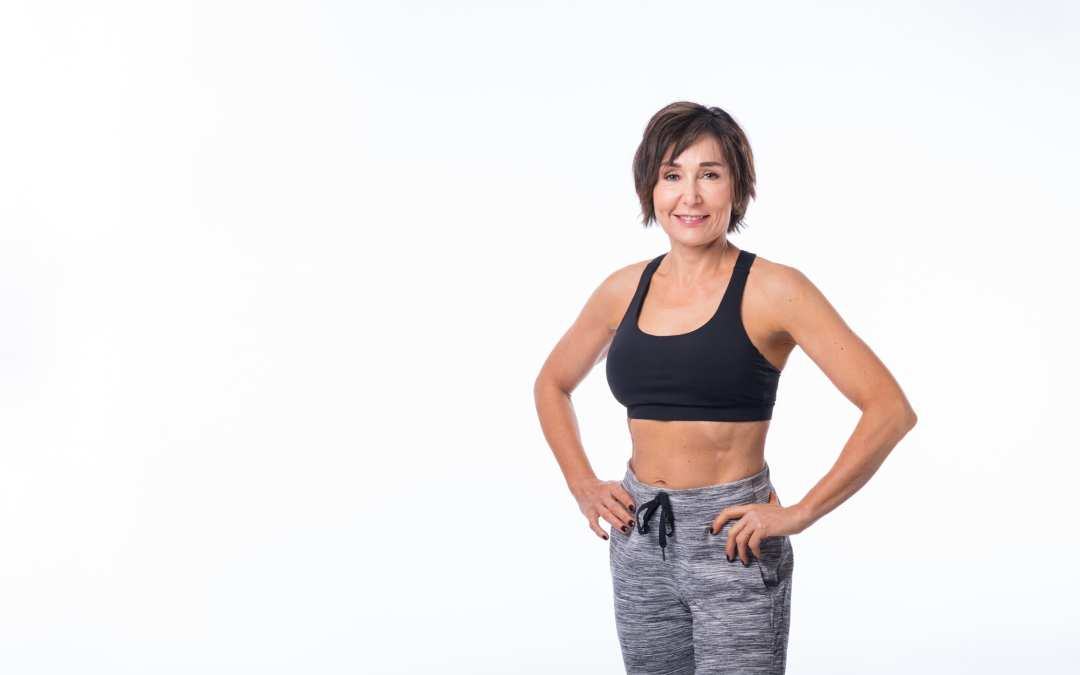 Small Ball Ab Workout for Women Over 40