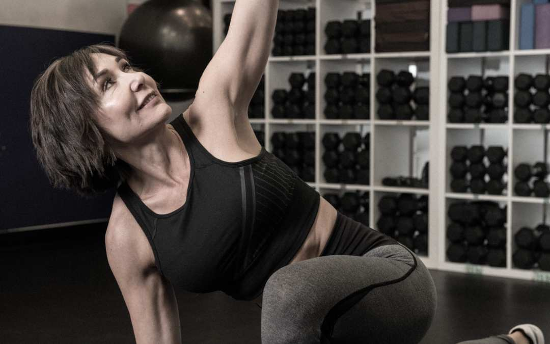 Beginner Yoga for Better Posture for Women Over 40