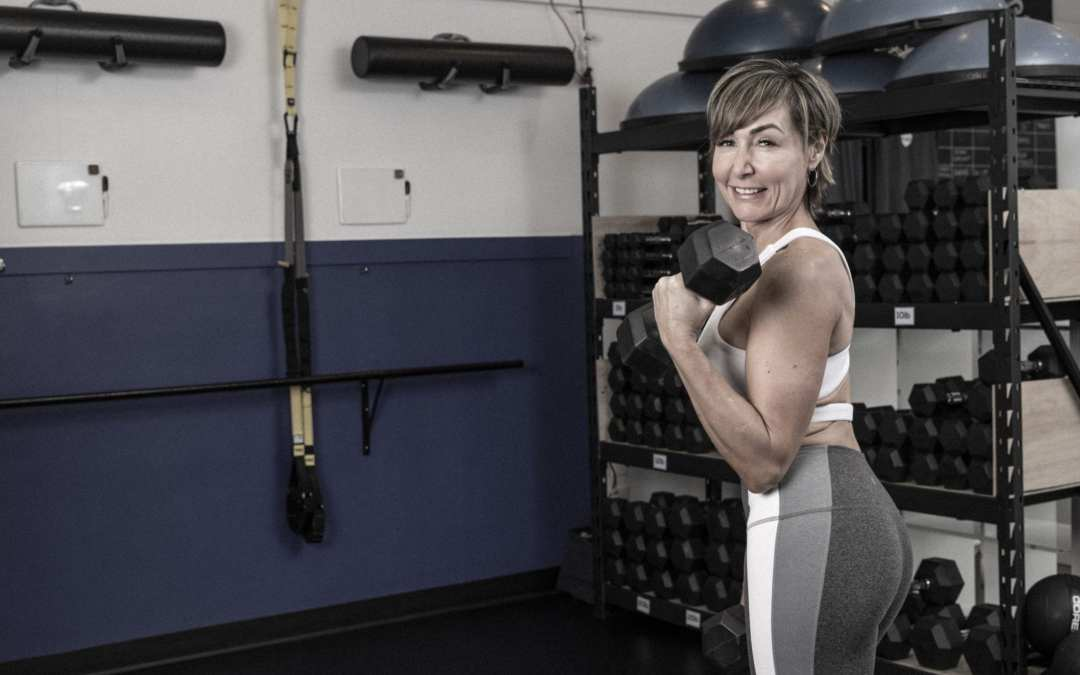 Upper Body Workout at Home with Dumbbells for Women Over 40