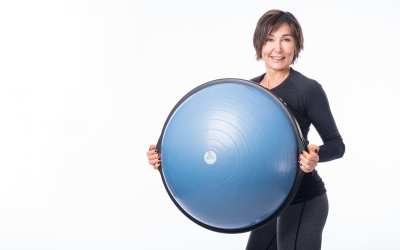BOSU Ball Workout with Weights for Women Over 40