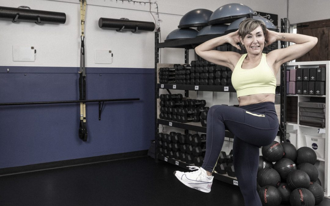 EMOM Cardio for All Levels for Women Over 40