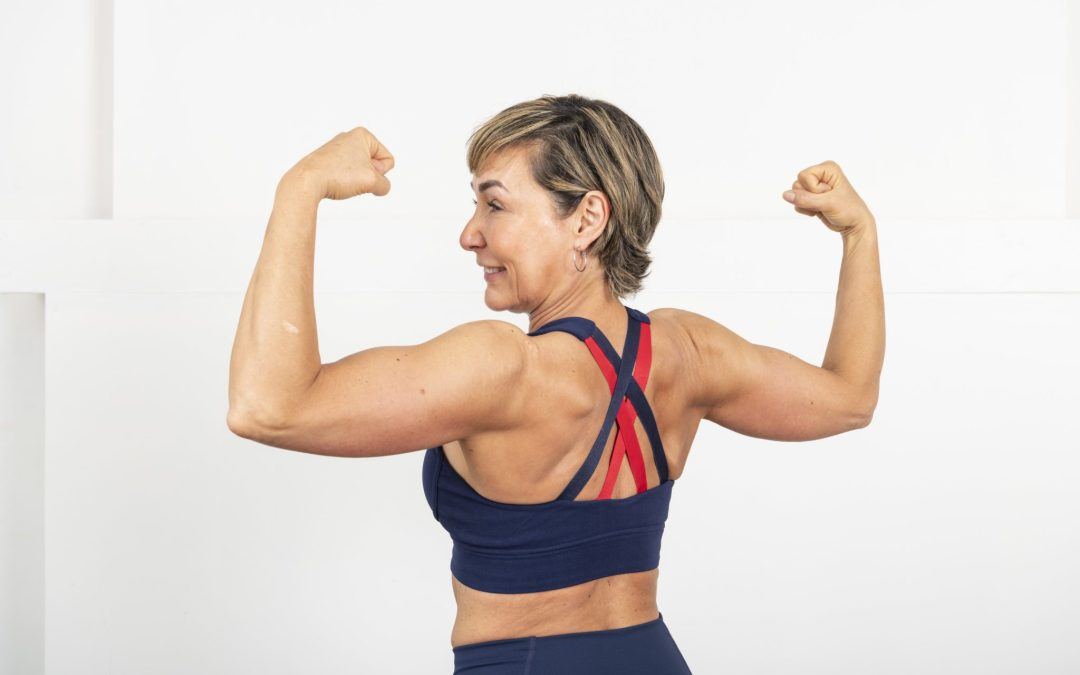 No More Bat Wings Chest & Tricep Strength Workout for Women Over 40