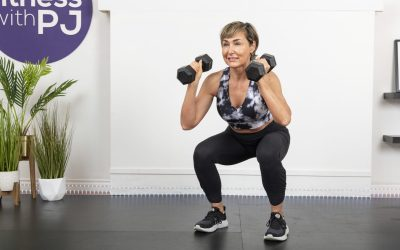 Quick Legs & Abs with Dumbbells for Women Over 40