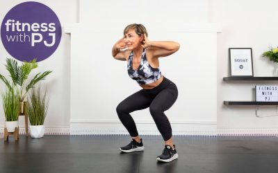 HIIT Cardio Workout for Home, No Equipment for Women Over 40