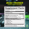 API BCAA 45 servings supplement facts - Shop online at fitnfabnutrition.in