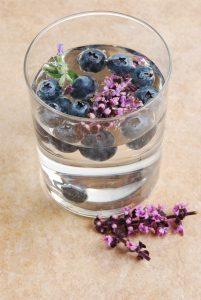 bosbes lavendel water