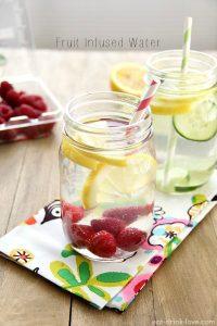 citroen frambozen water
