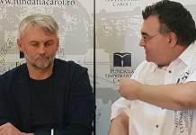 Petr Borkovec și Mircea Dan Duță Peter Sragher