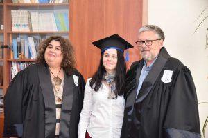 Familia Siskin cu traducătoarea Antoaneta Olteanu
