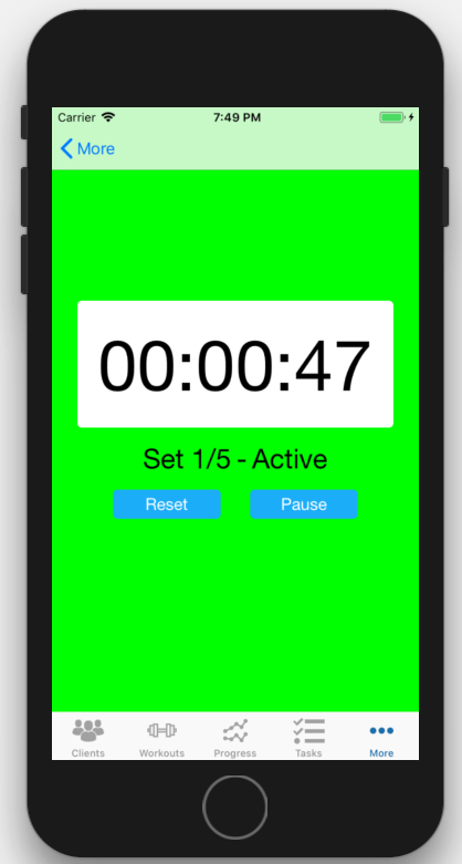 Workout Timer App Personal Trainers