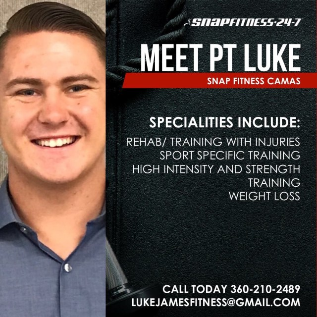 featured personal trainer luke james