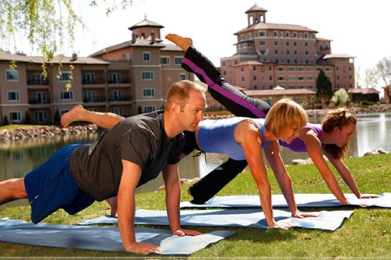 online personal training exercise