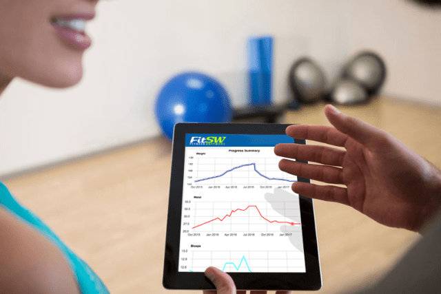 online personal training progress tracking