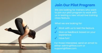 Pilot Program for Live Fitness Classes