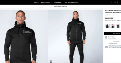 Born Tough Mens Athletic Wear