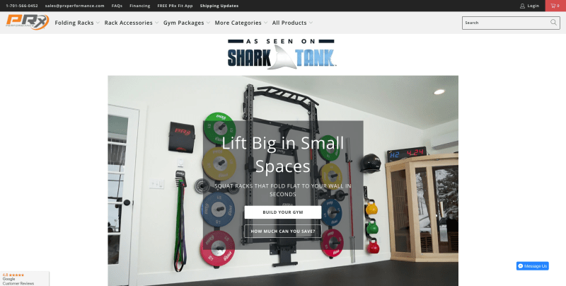 PRX Performance Home Gym Packages