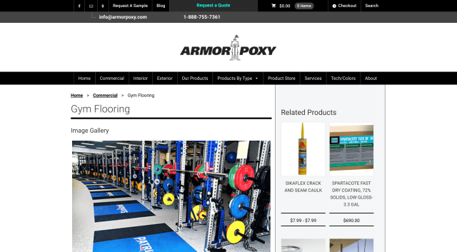 Armor Proxy - Commercial Gym Flooring