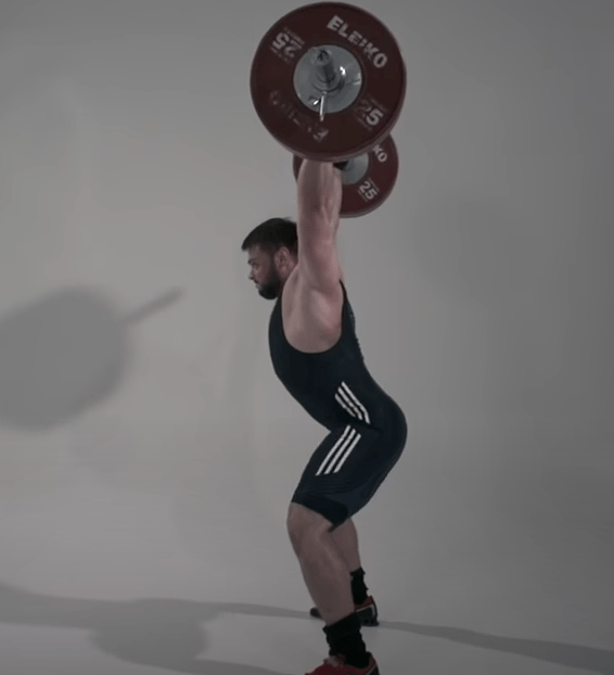 The Jerk motion of the Clean and Jerk