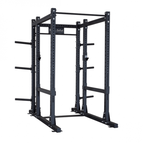body solid commercial extended power rack
