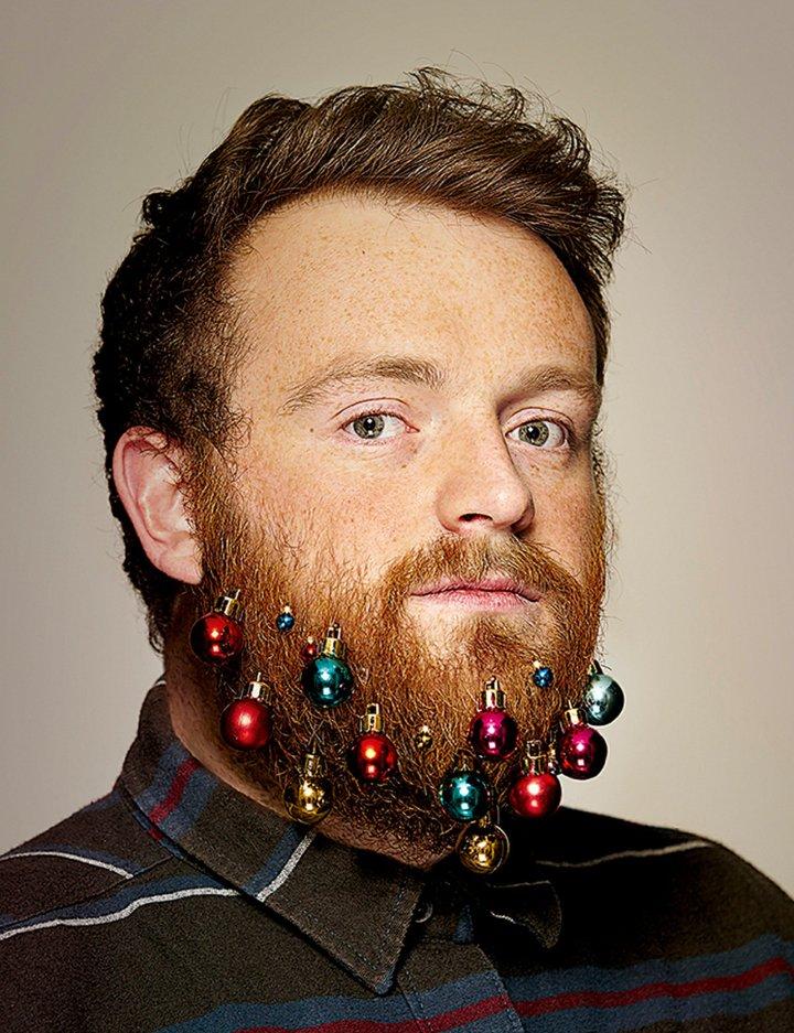 kerst baard
