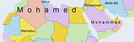 voornamen afrika