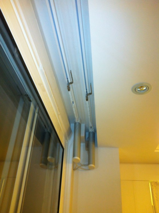 Somfy's electric Curtain track