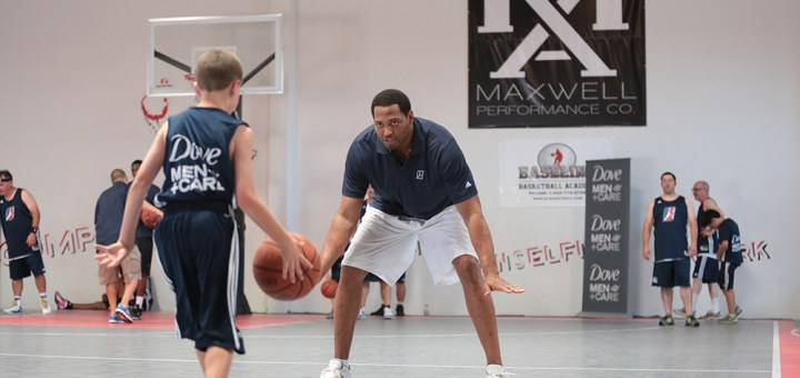 Fit To Be Dad at the NBA Fantasy Camp