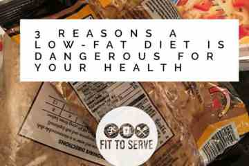 3 Reasons a Low-Fat Diet Is Dangerous For Your Health