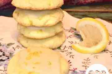 Low Carb Nut-Free Tangy Lemon Cookies