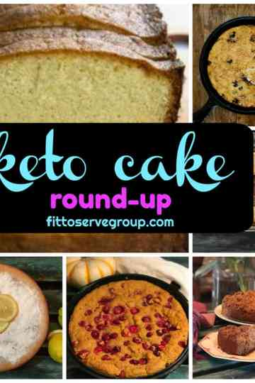 A keto pound cake round up of the best low carb keto bloggers