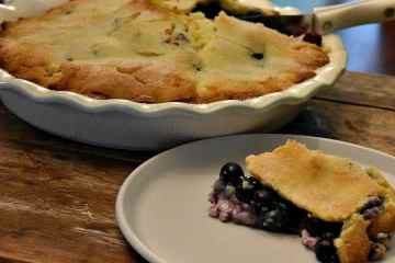 Keto Blueberry Pie