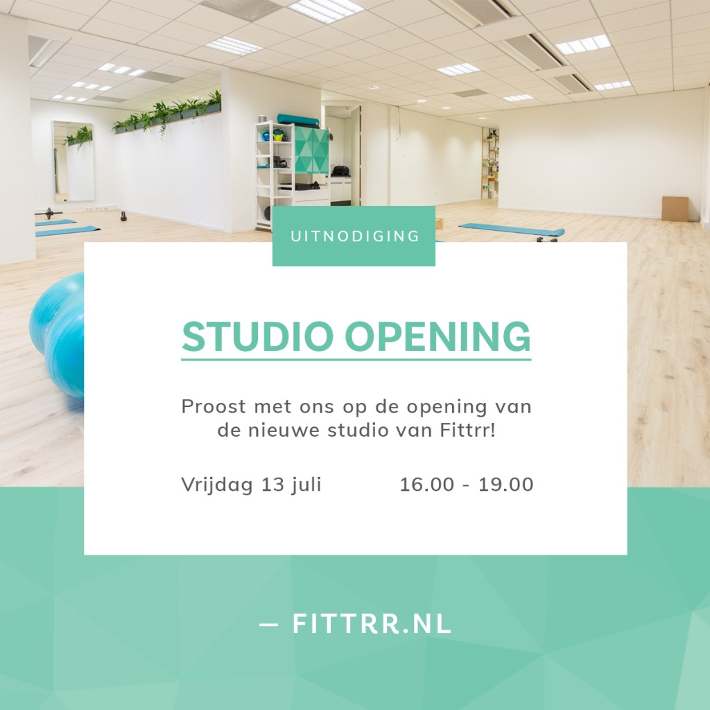 Fittrr opening uitnodiging