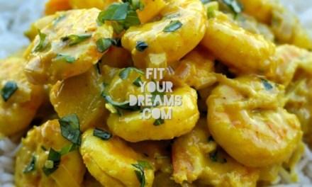 Curry de Crevettes Coco Ananas
