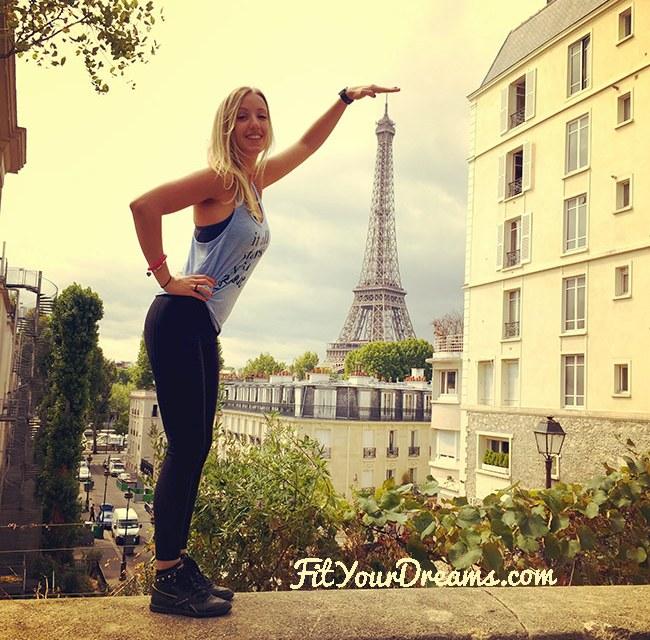Paris, entre fitness et finesse !