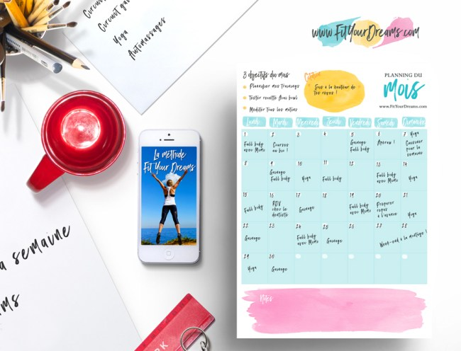 plannings-methode-fit-your-dreams