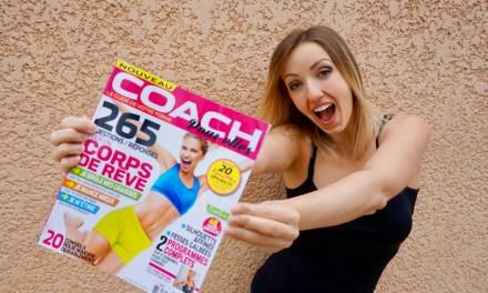 Découvrez le magazine COACH pour elles !