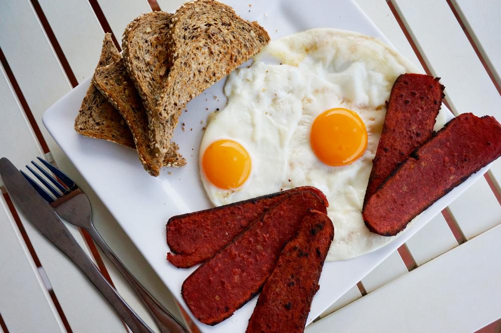 Petit déjeuner salé en Australie