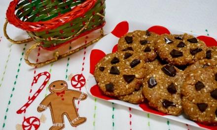 Raw cookies (cookies crus) prêts en 5 minutes !