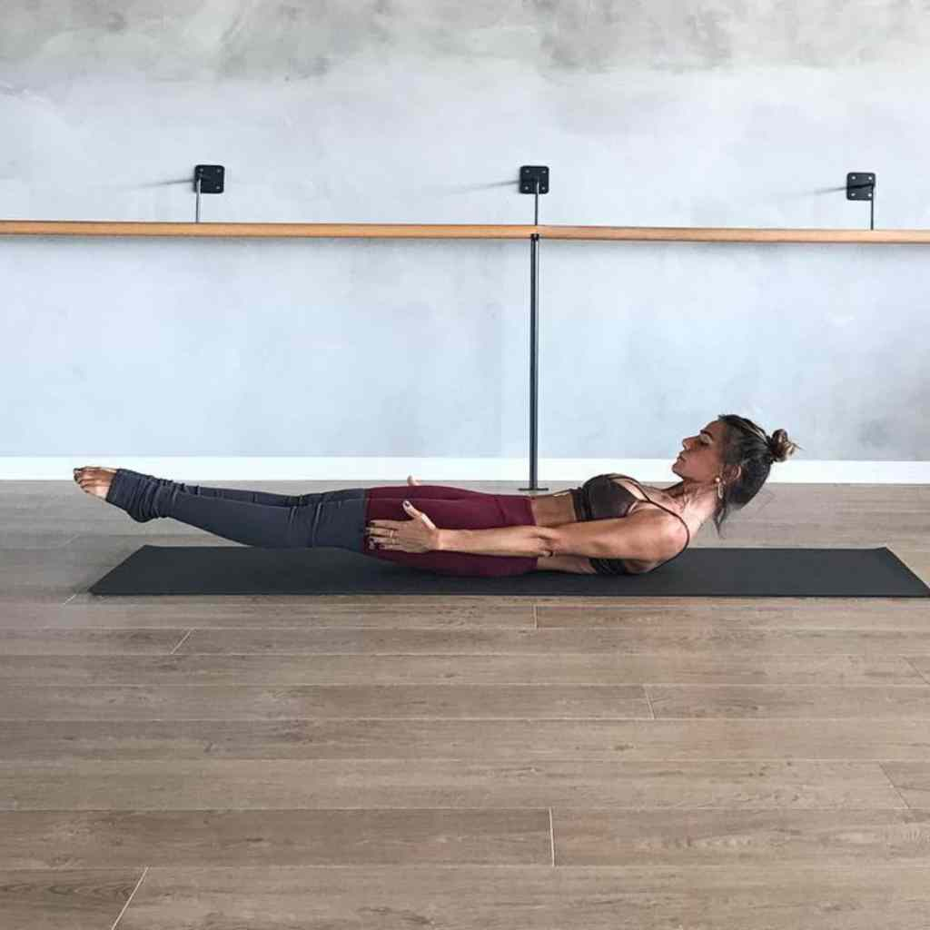 Ardha Navasana or Half Boat pose (Extended Boat Pose) - fitzabout