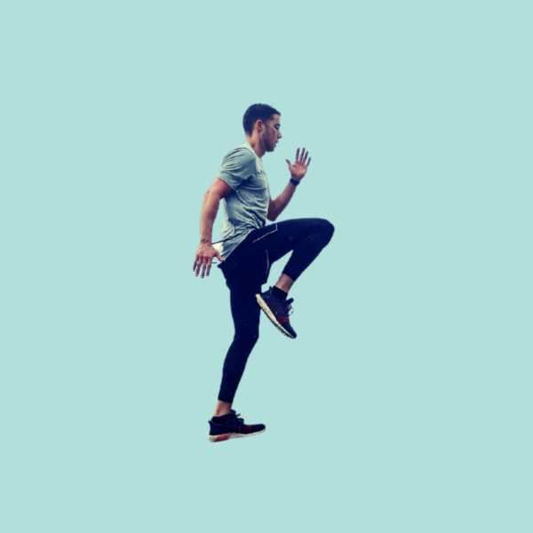 How to do the High knees Exercise step by step - Fitzabout